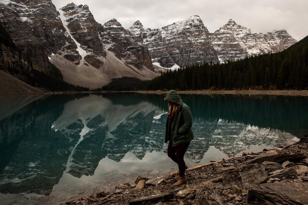 Natalie in Banff National Park, Alberta, Canada