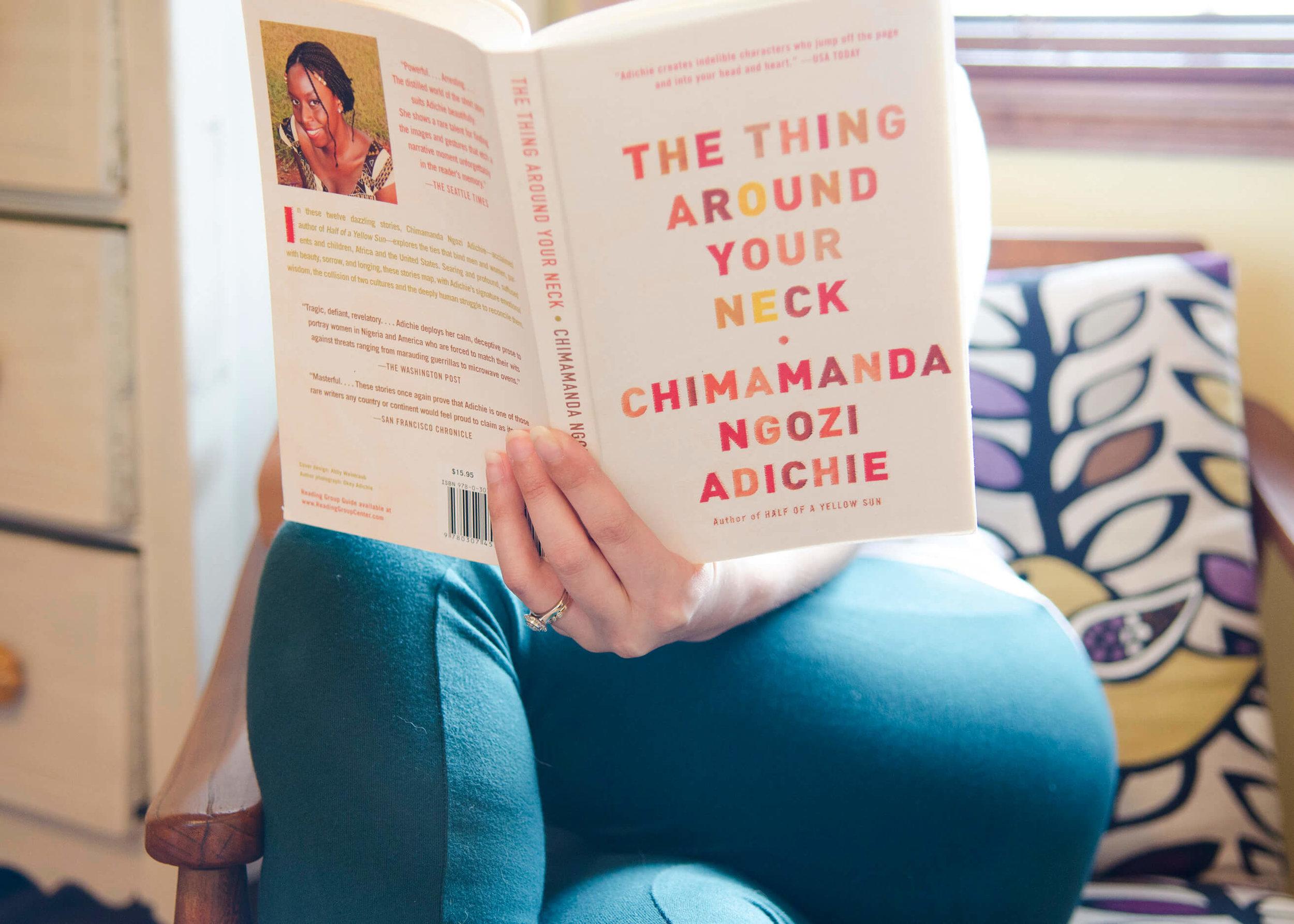 Chimamanda Ngozie Adichie by Sam Spahr for Oui We
