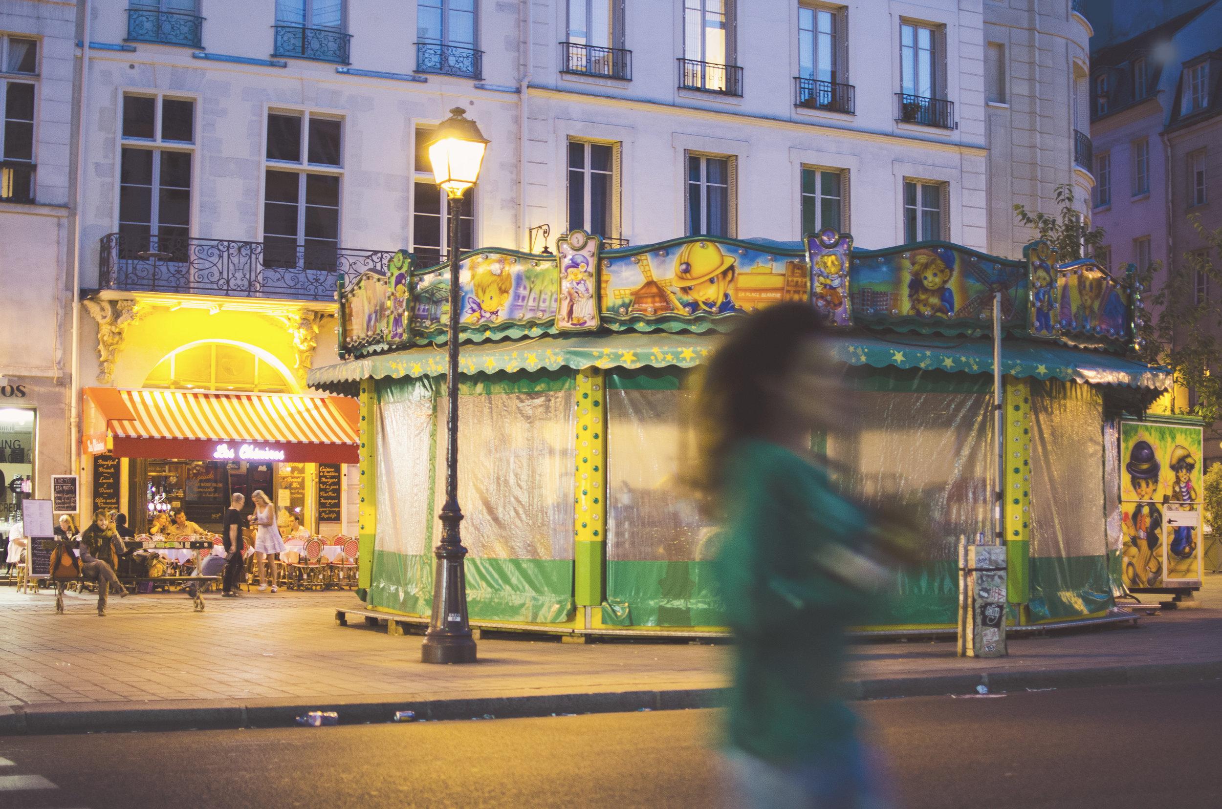 Carousel, Paris by Sam Spahr
