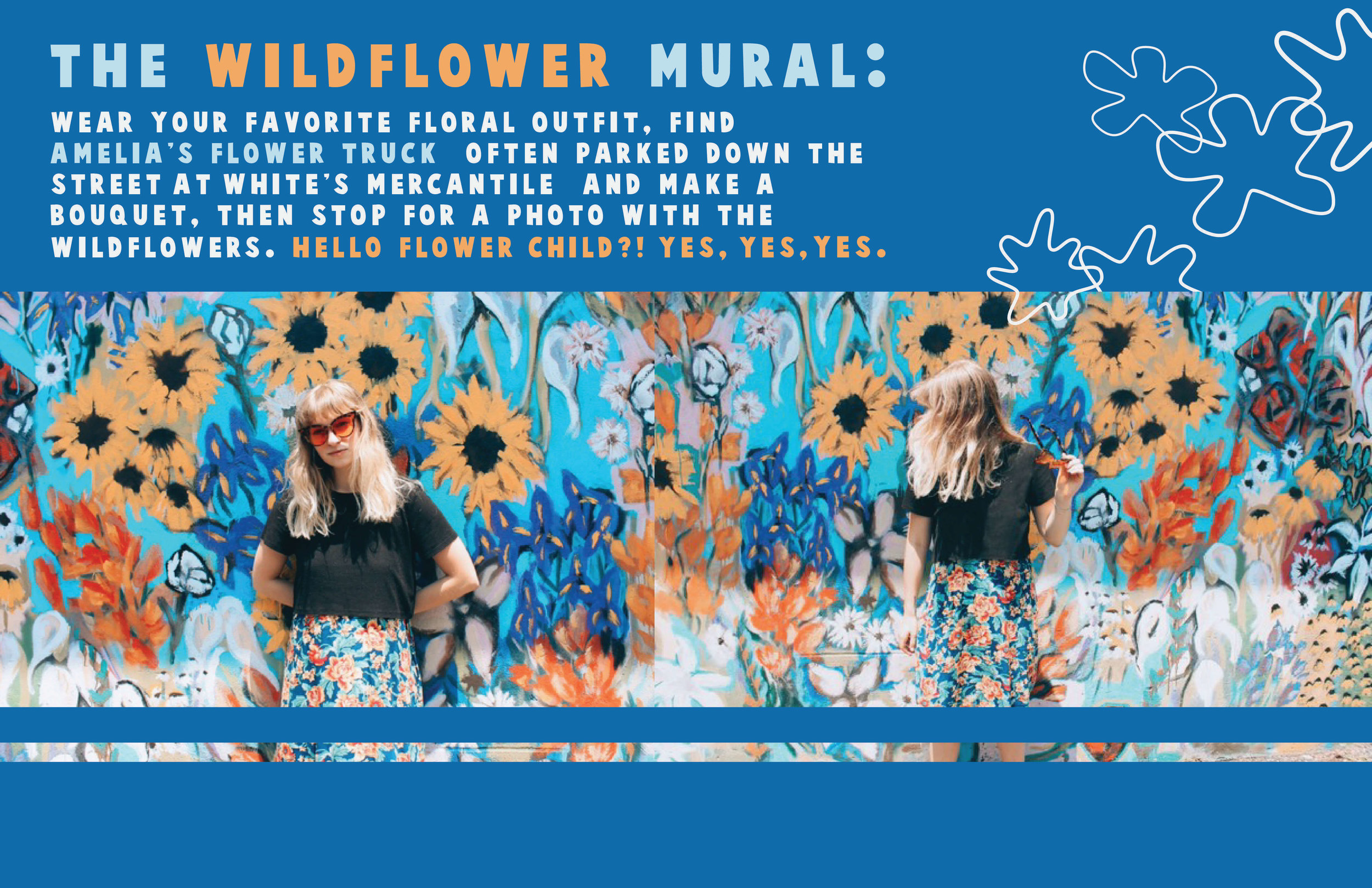 Wildflower Mural / Oui We Nashville