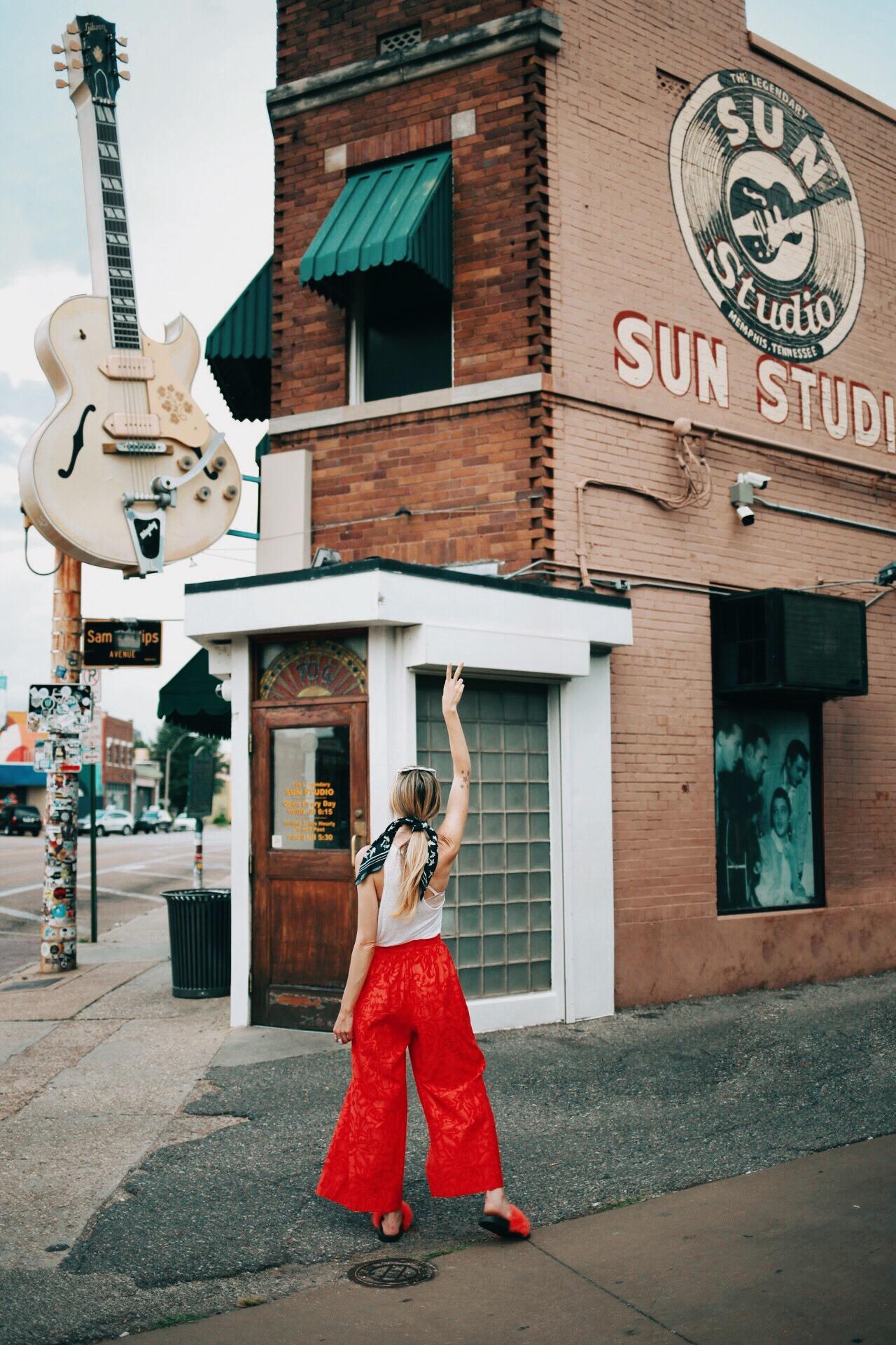 Sun Studio, Memphis Tennessee