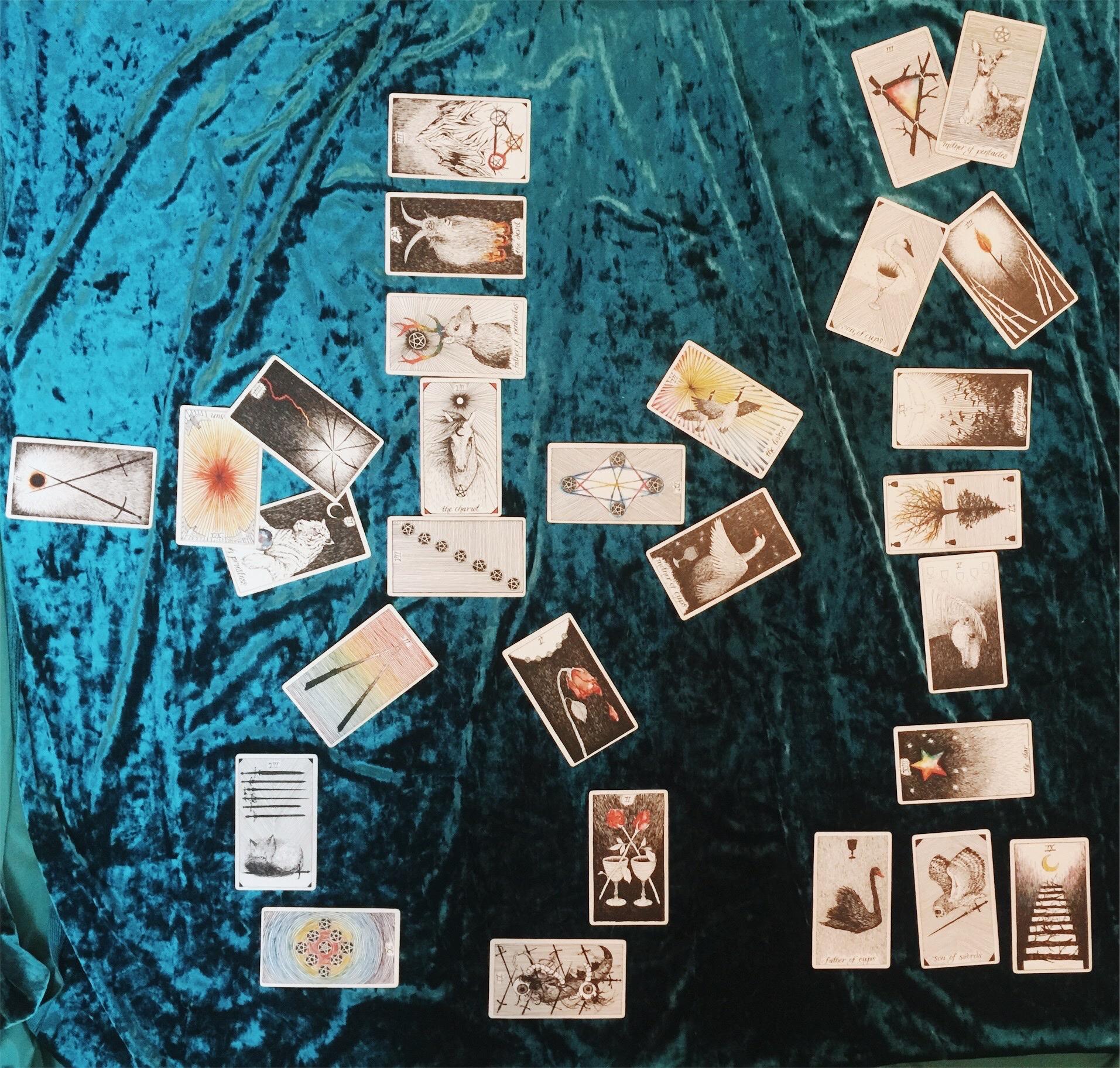 Violet Guide Tarot