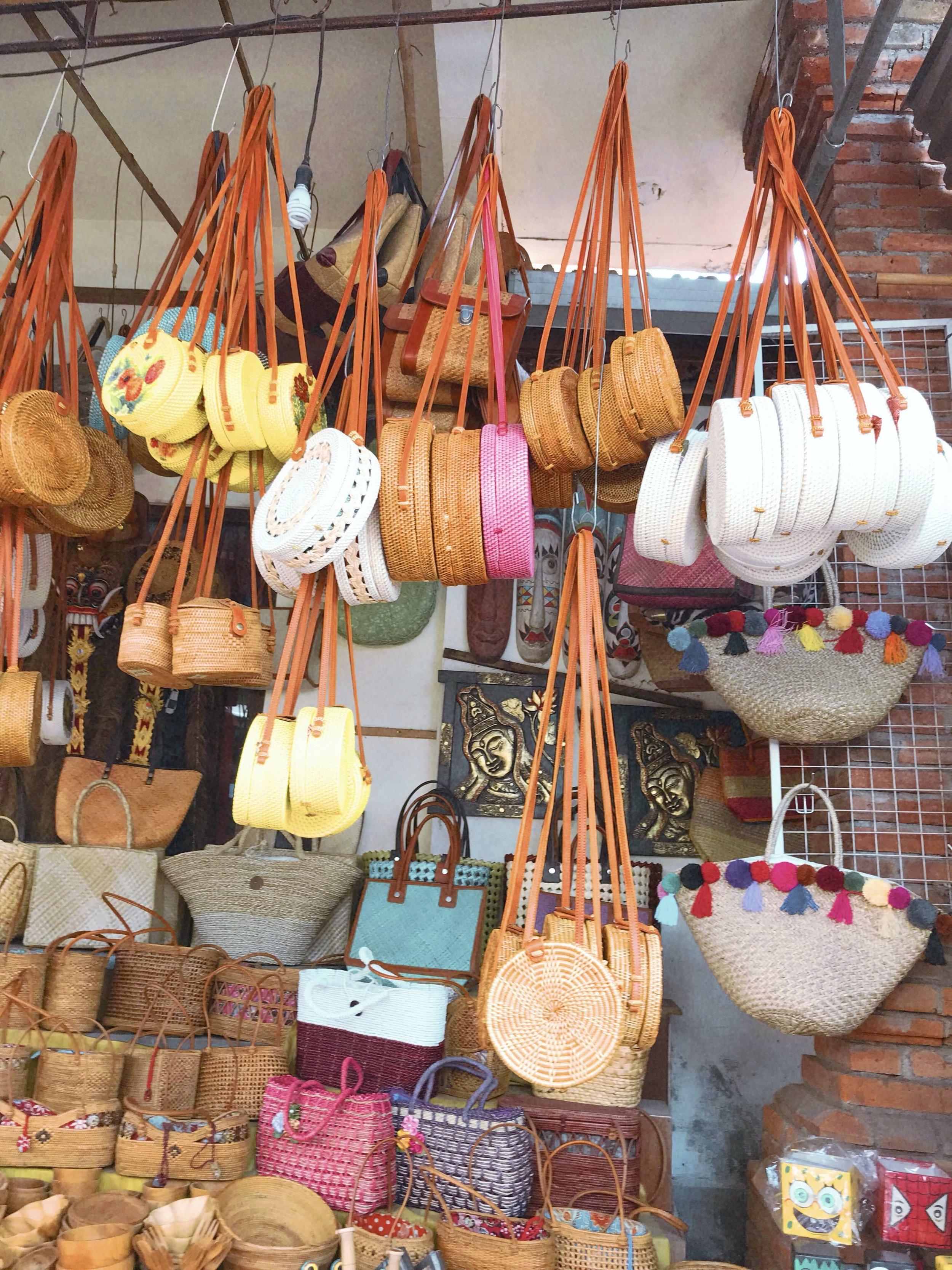 ubud market bali shopping