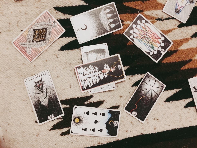 tarot cards, new moon, sagittarius, tarotscope, wild unknown