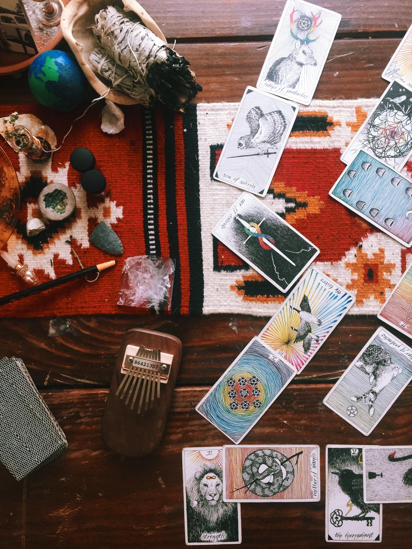 Wild Unknown Tarot Deck, Flower Moon Reading