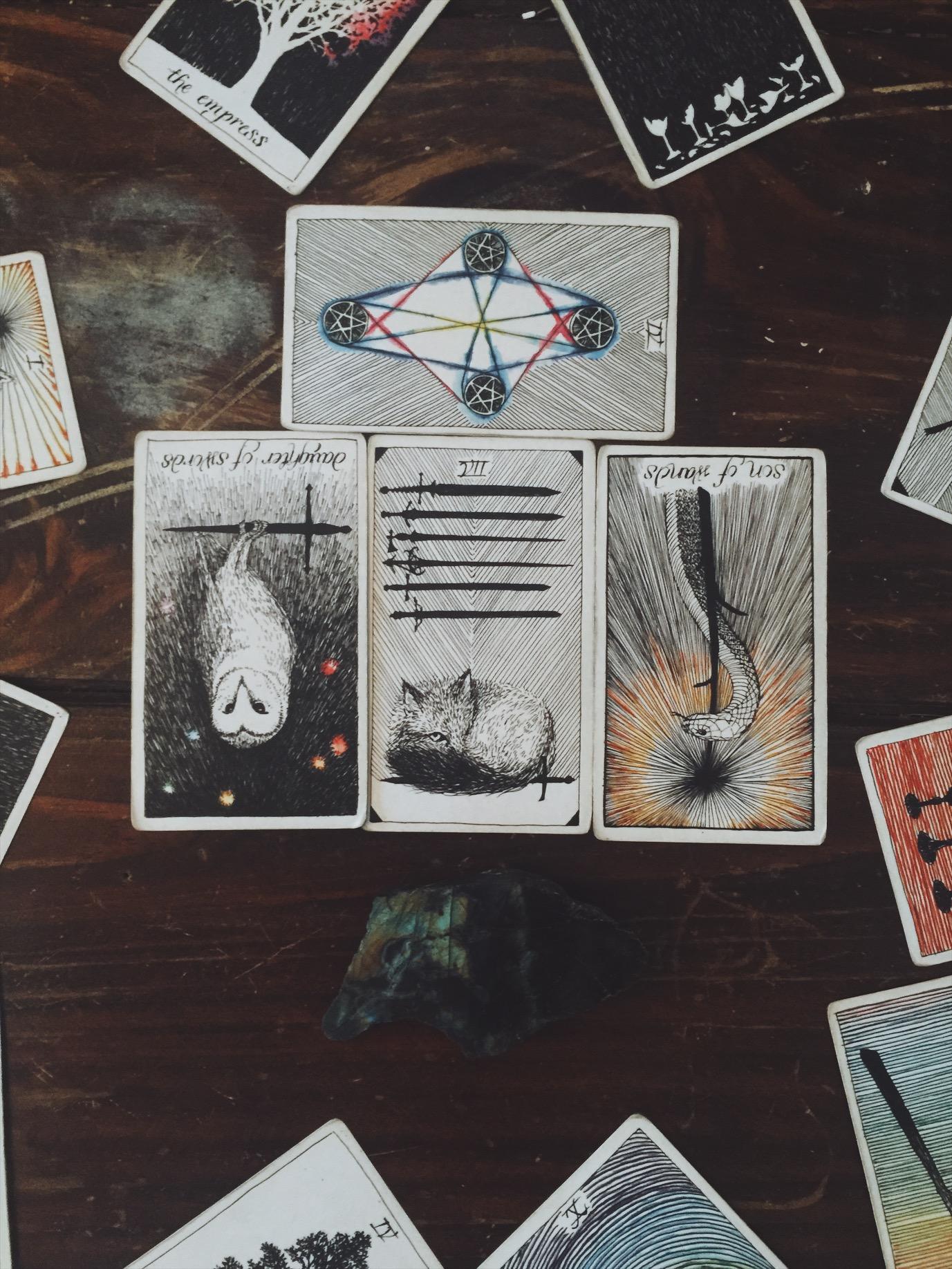 tarot deck, favorite tarot deck, wild unknown, astrology reading