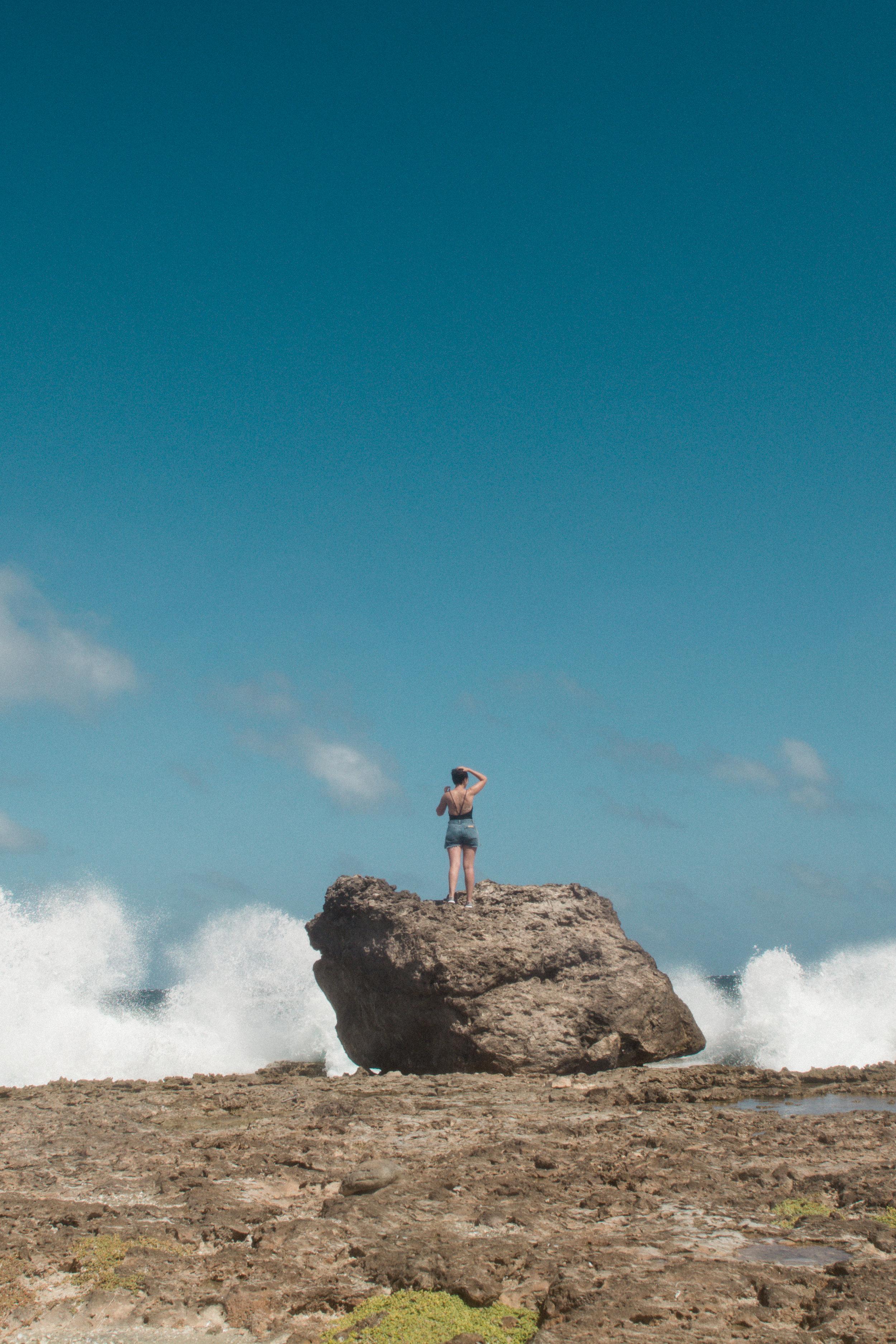 Black Rock of Mamparia Cutu
