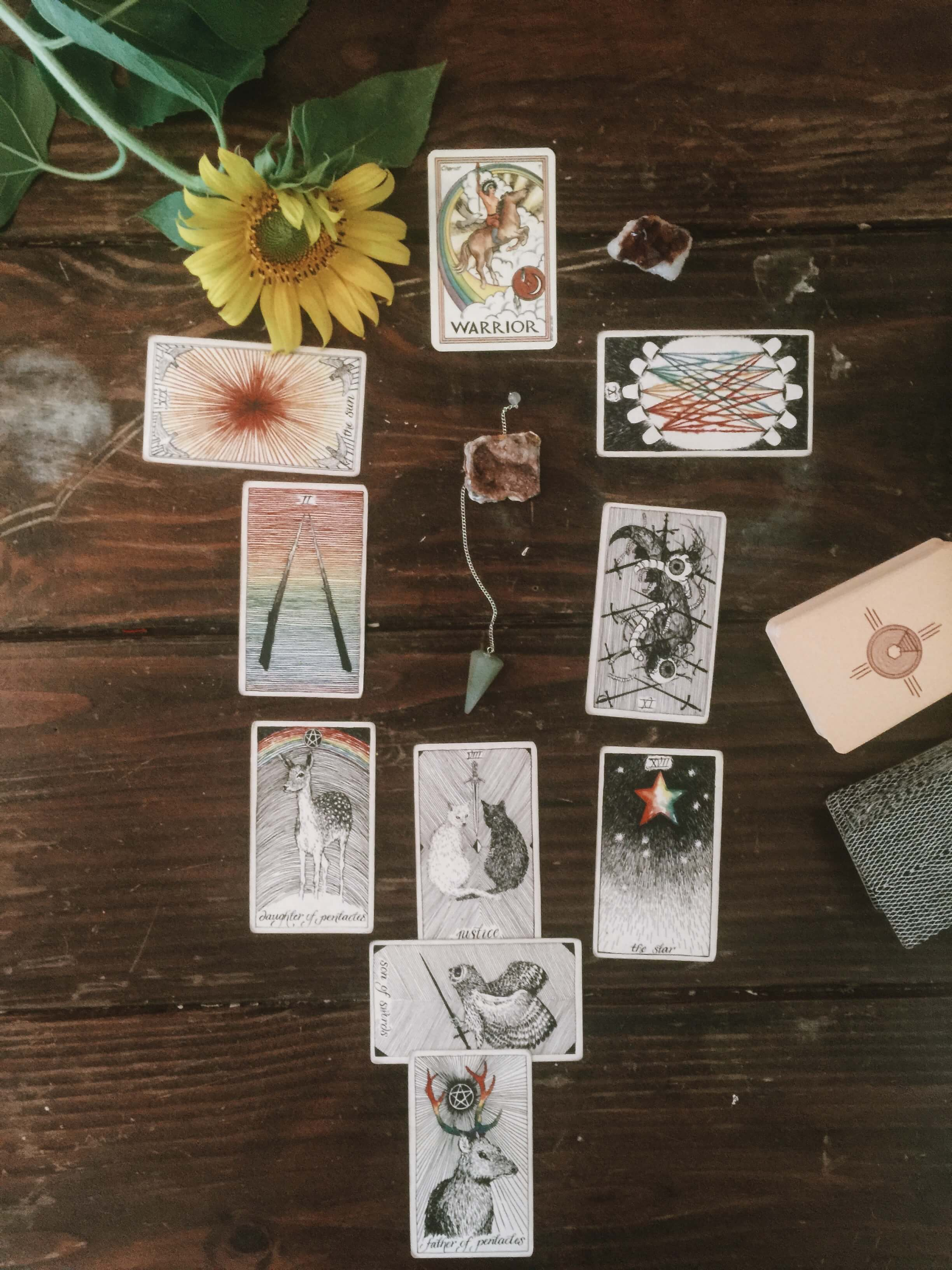 Full Moon Astrology, Tarot Cards