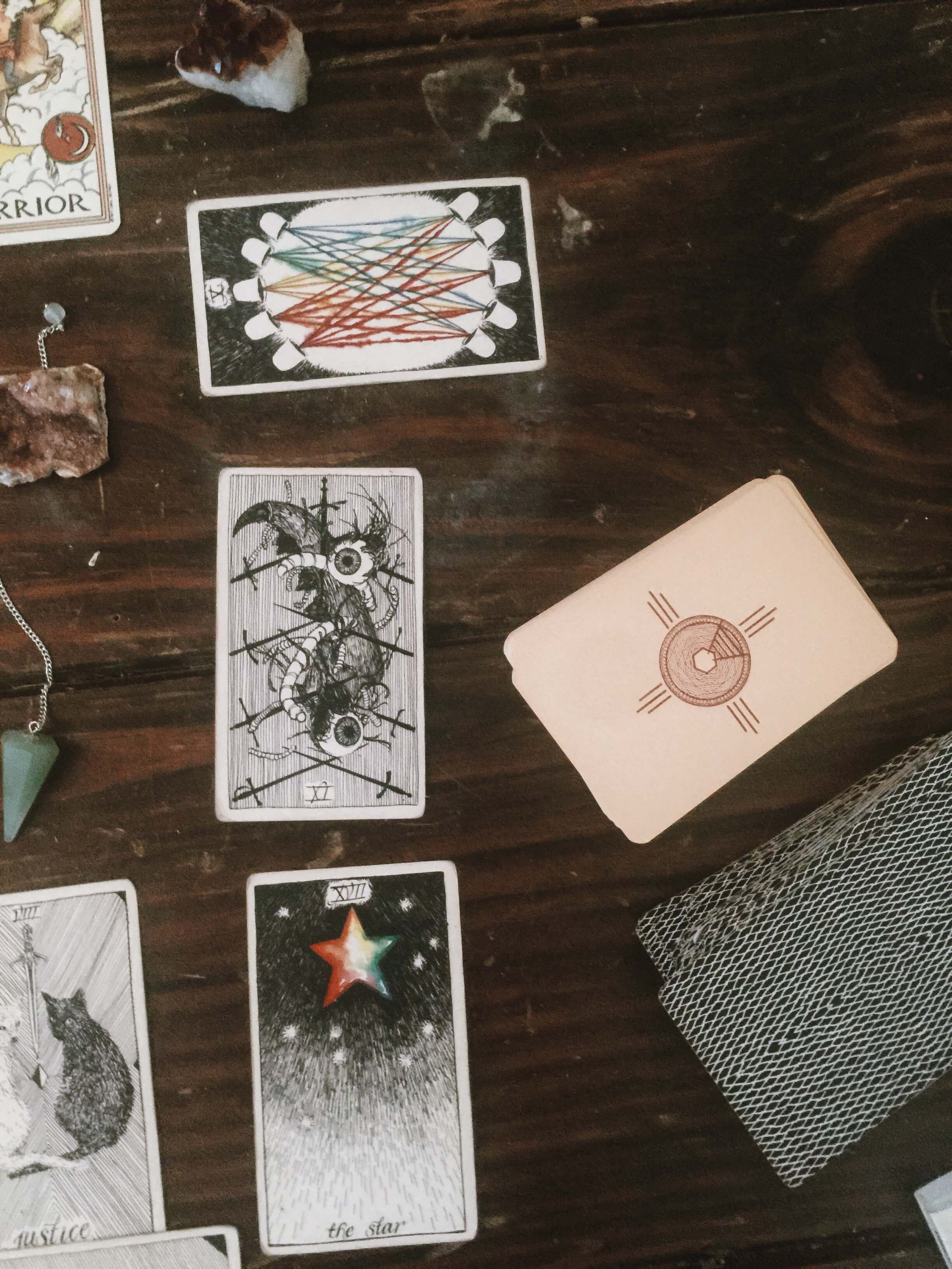 sun card, tarot deck, wild unknown