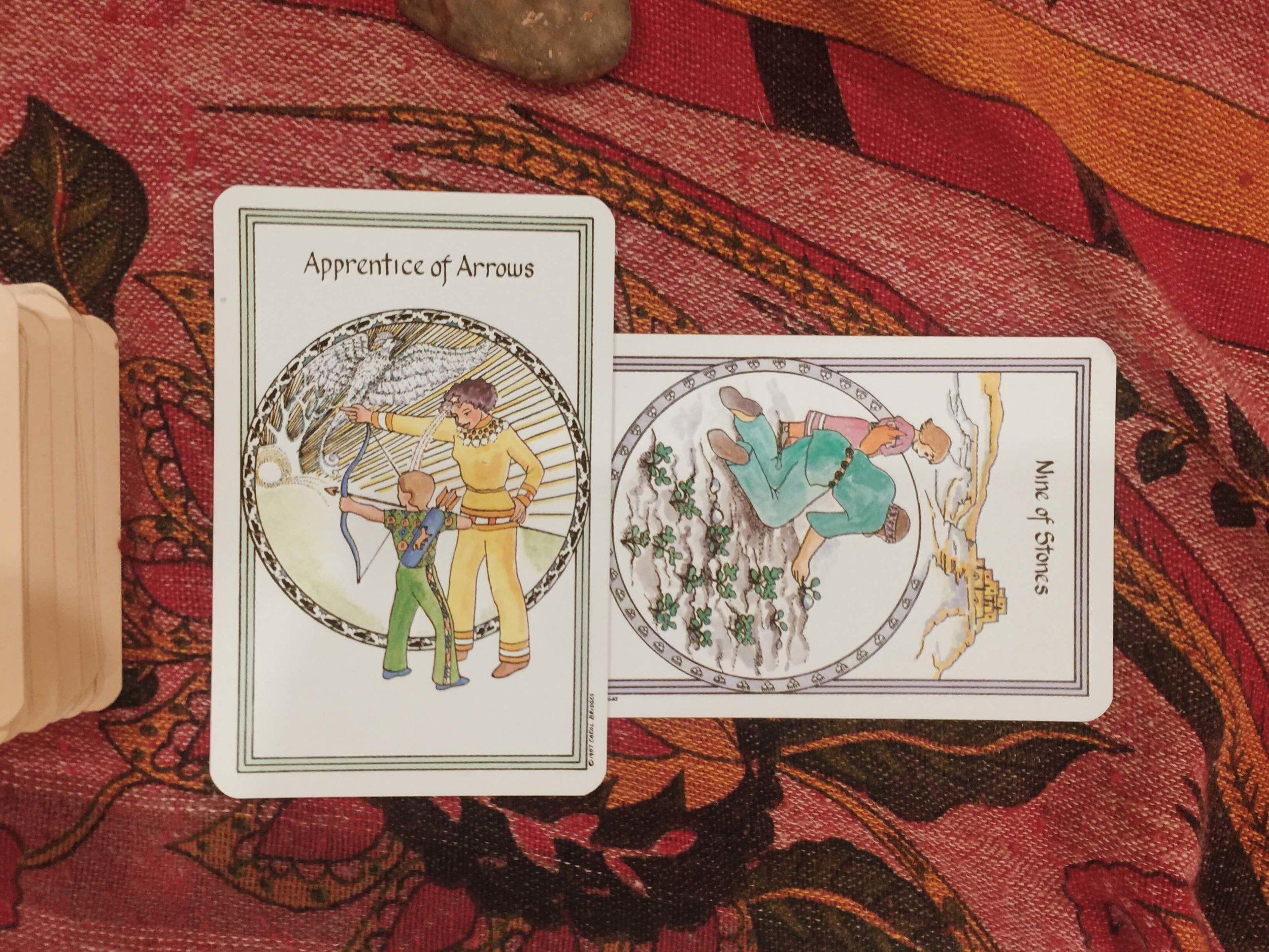 Tarot, New Moon, Eclipse Season, Mercury Retrograde — Oui We