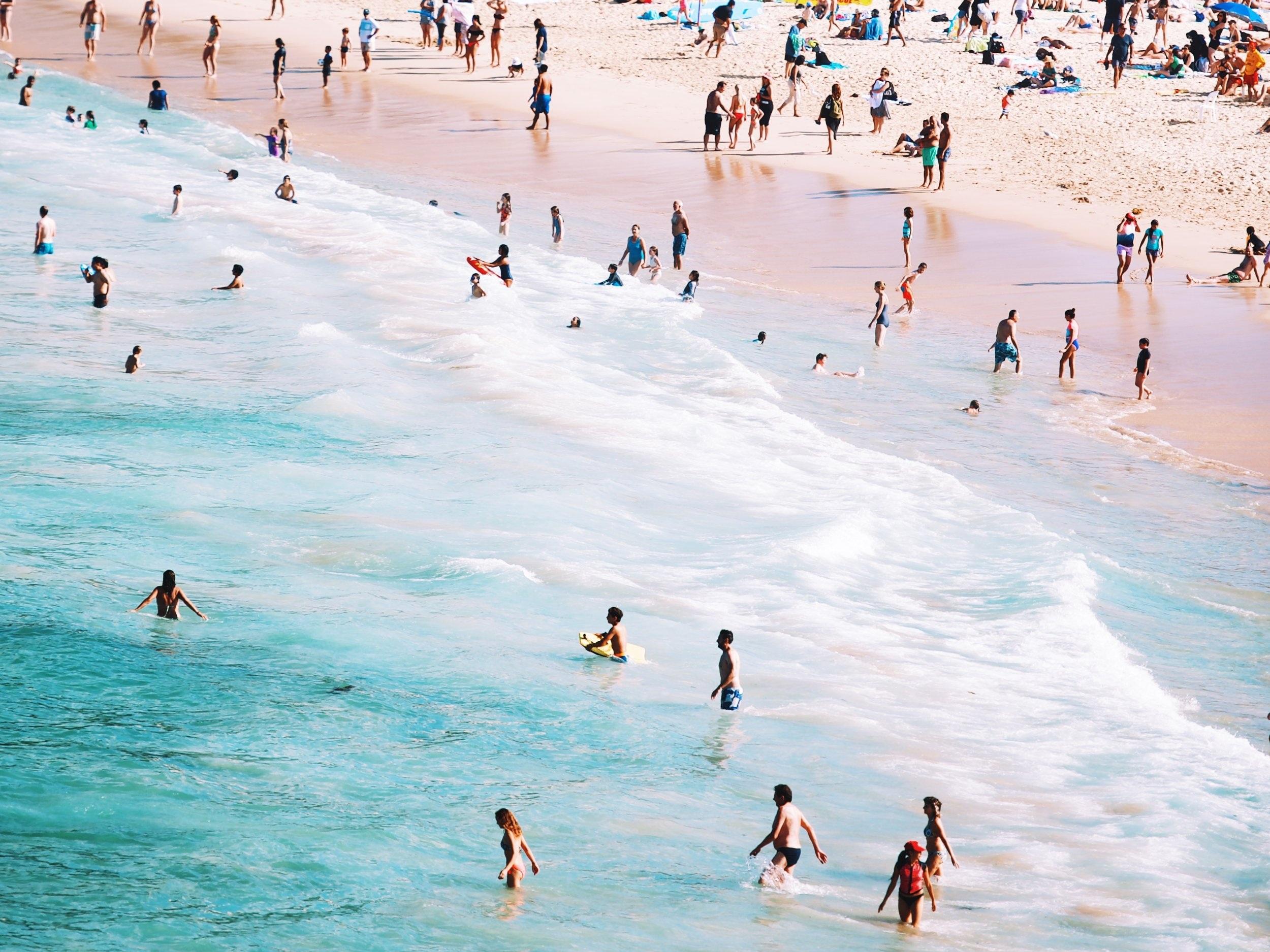 Bondi Beach, Australia, Solo Travel