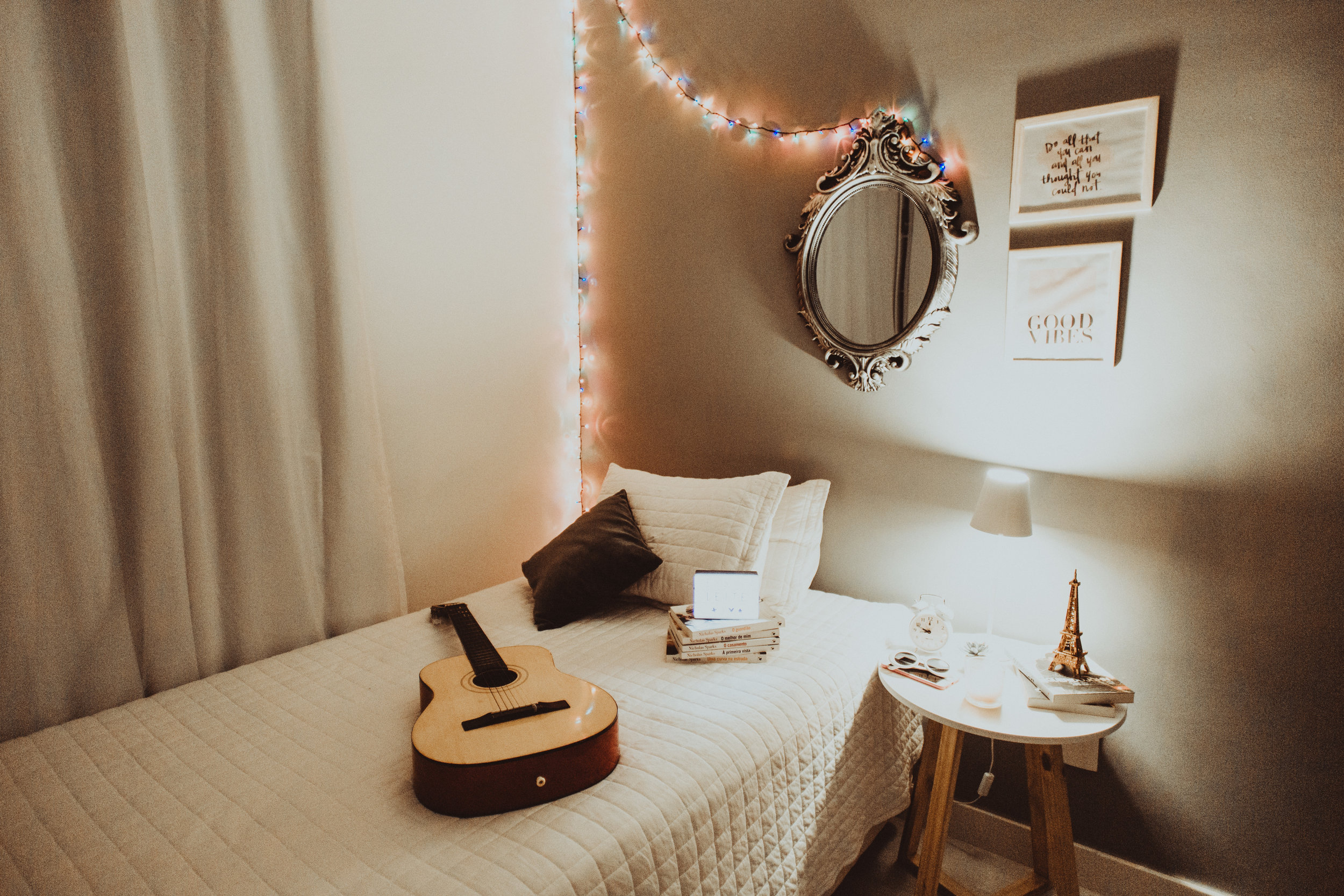 Electronics in the bedroom, sacred bedroom space