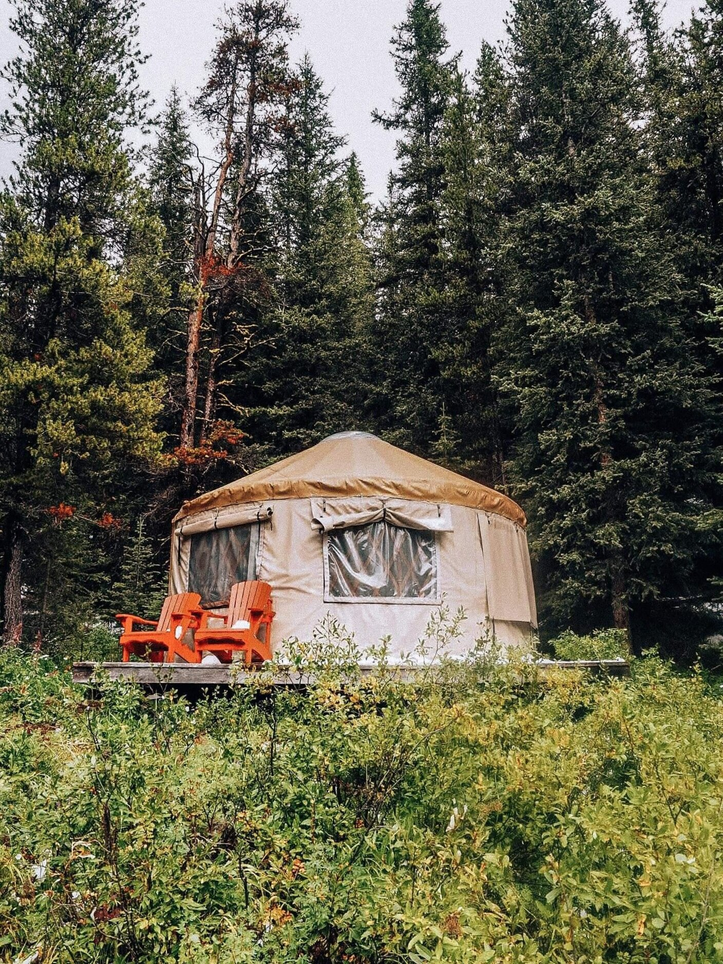 Mountain Engadine, Alberta, Canada, Glamping Experience