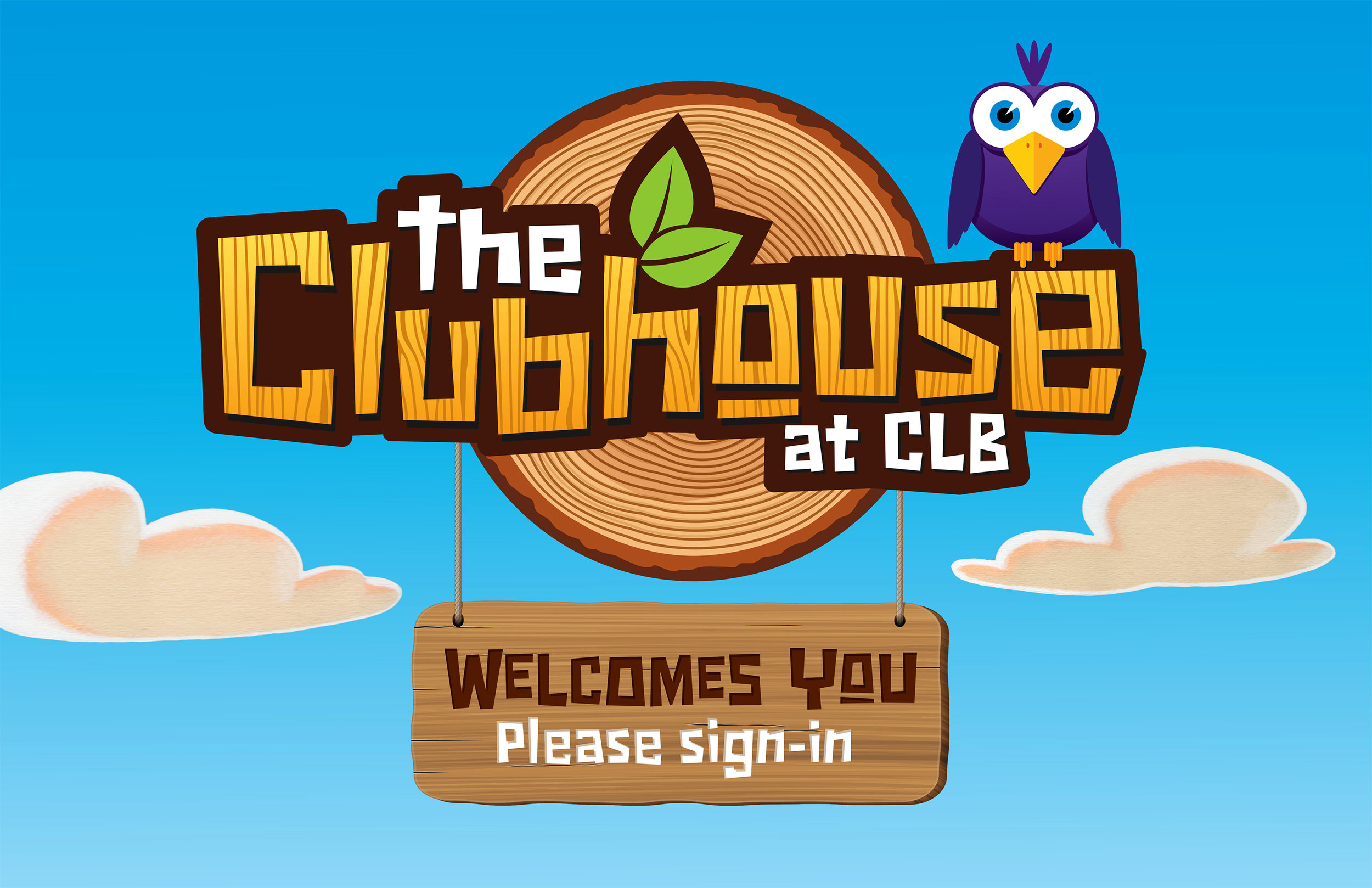 The Club House Kids Branded Ministry Logo