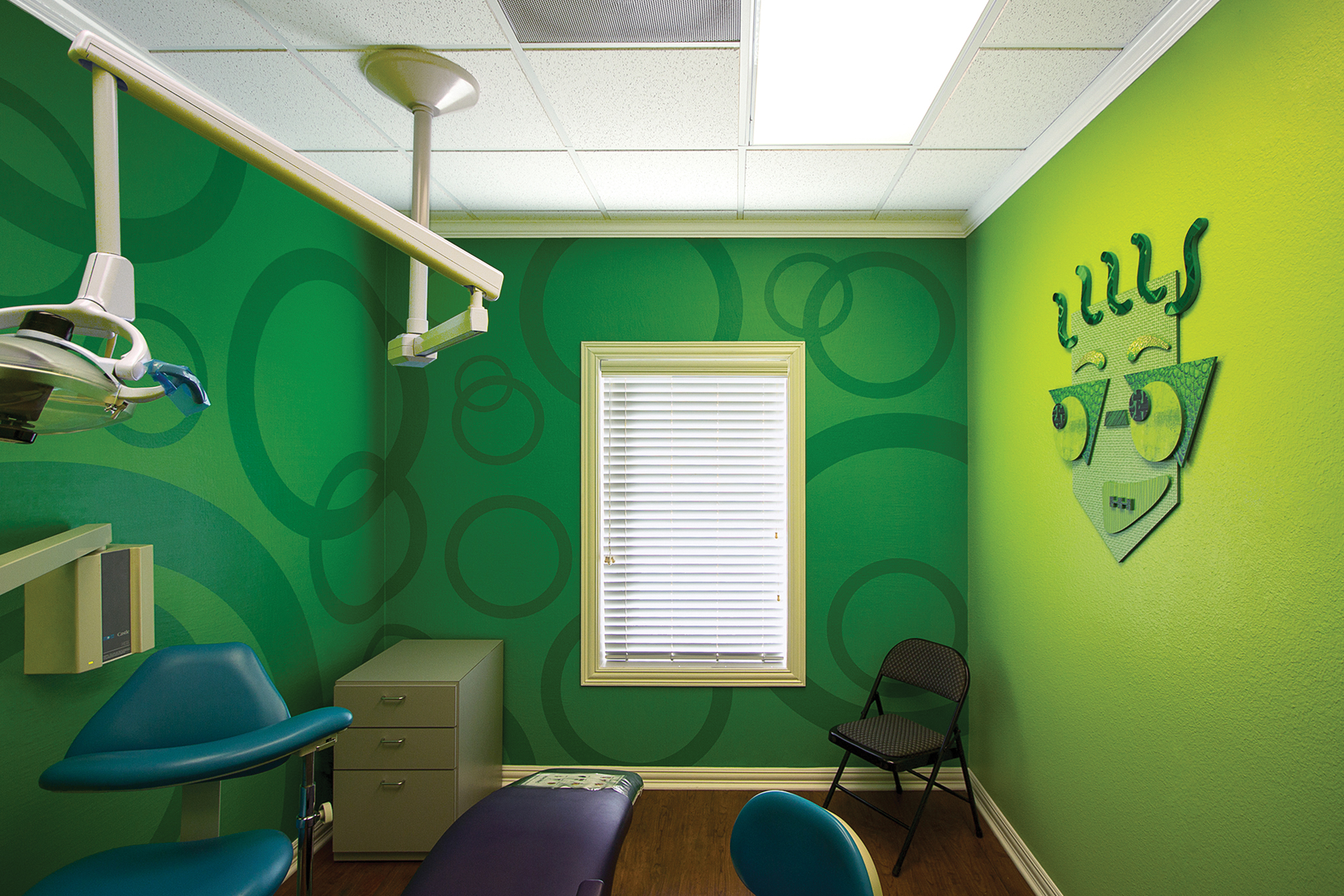 Shape Themed Character Treatment Rooms