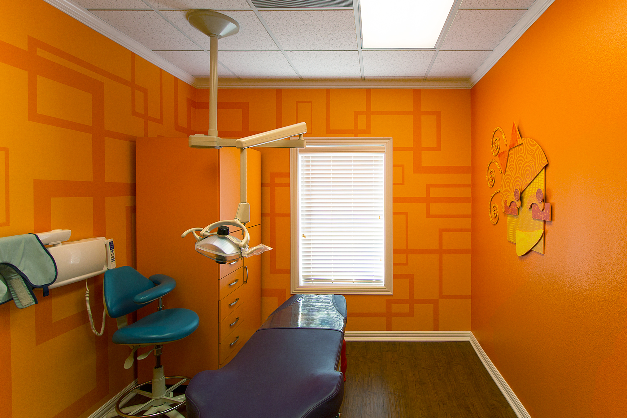Fun Electric Whimsical Themed Treatment Rooms