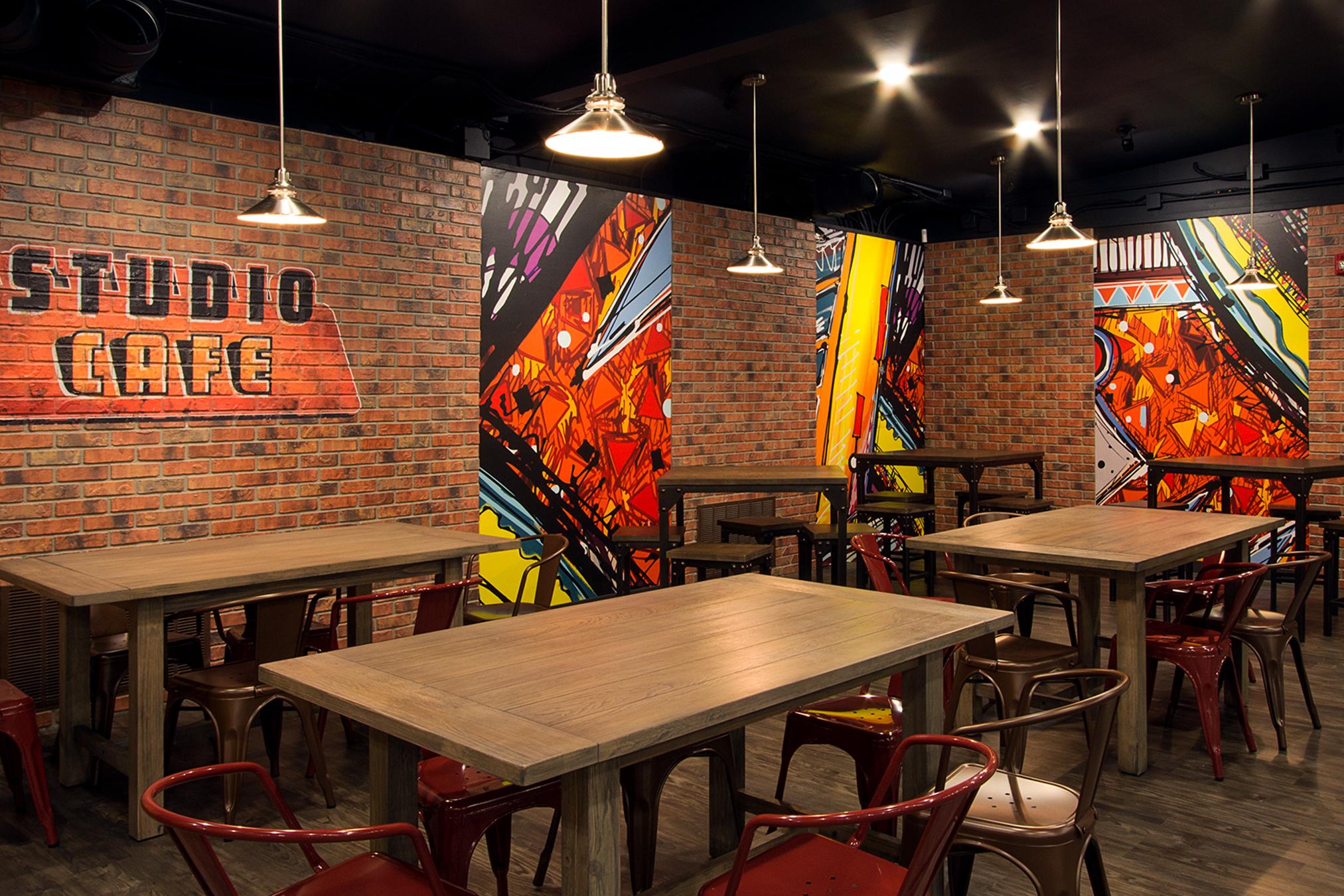 Custom Themed Studio Warehouse Cafe
