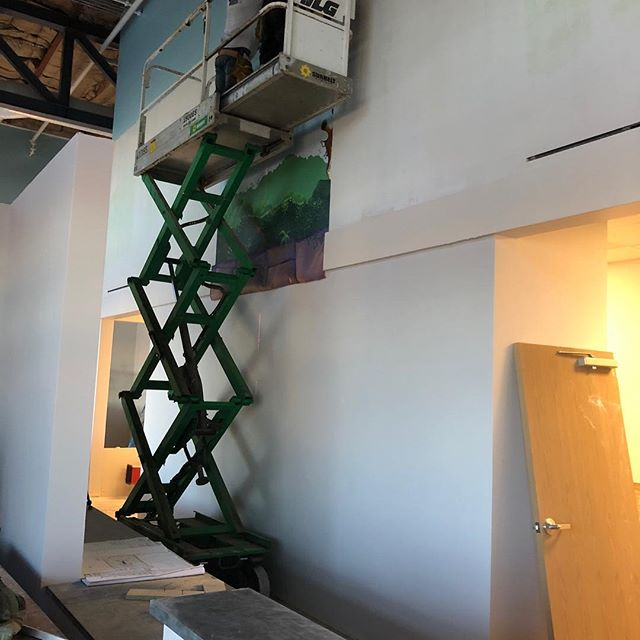 Installing in Amarillo. Days 1-4. Still more to go but so far this is looking great.