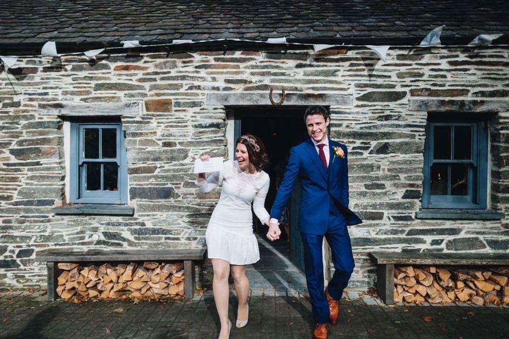 Chloe & Dafydd - fforest farm