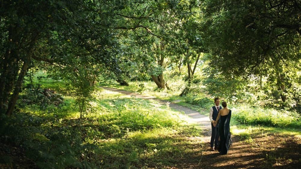 Julia & Matthew - fforest farm