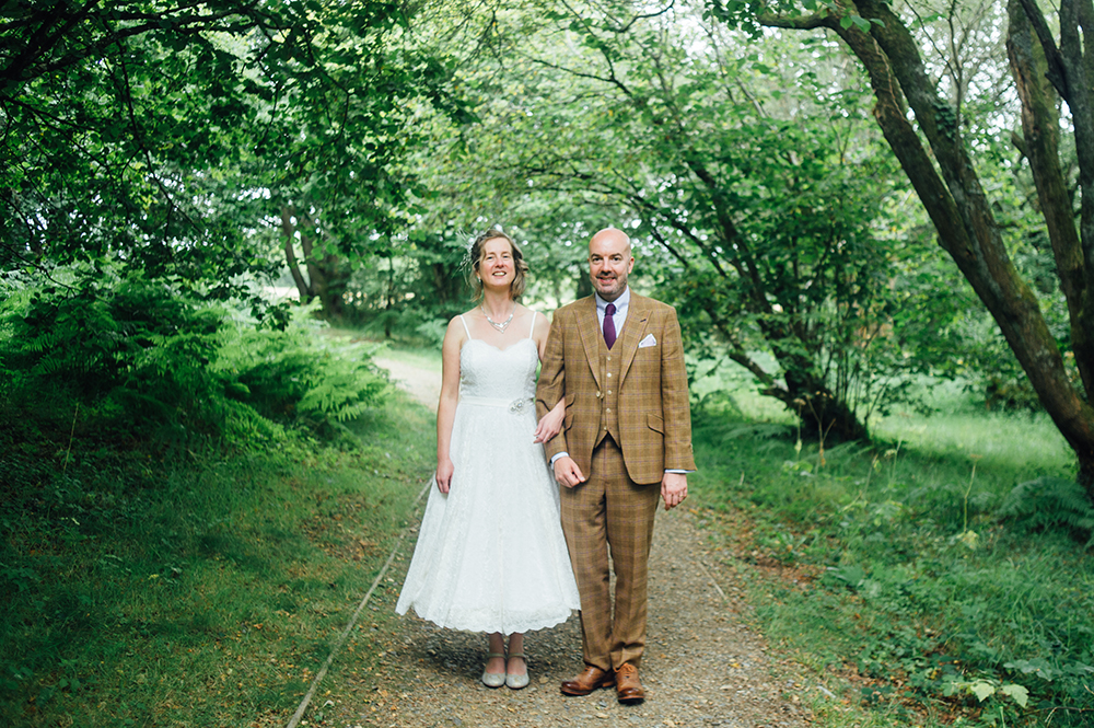 Kate & Andrew - fforest farm