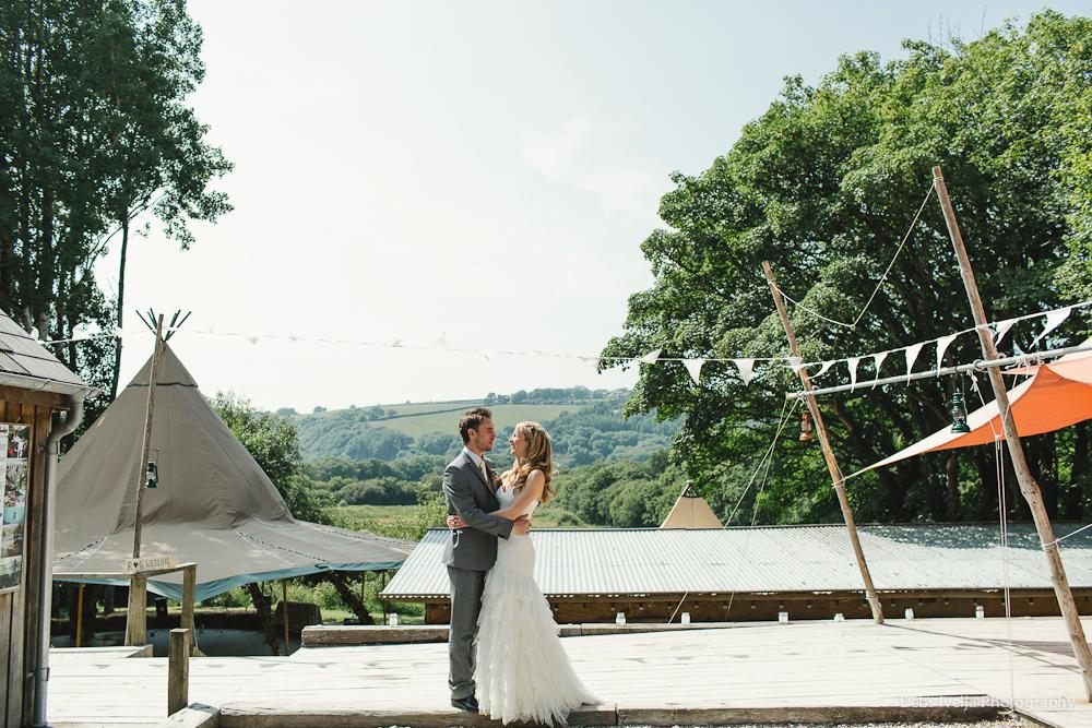 Rachel & Gareth - fforest farm