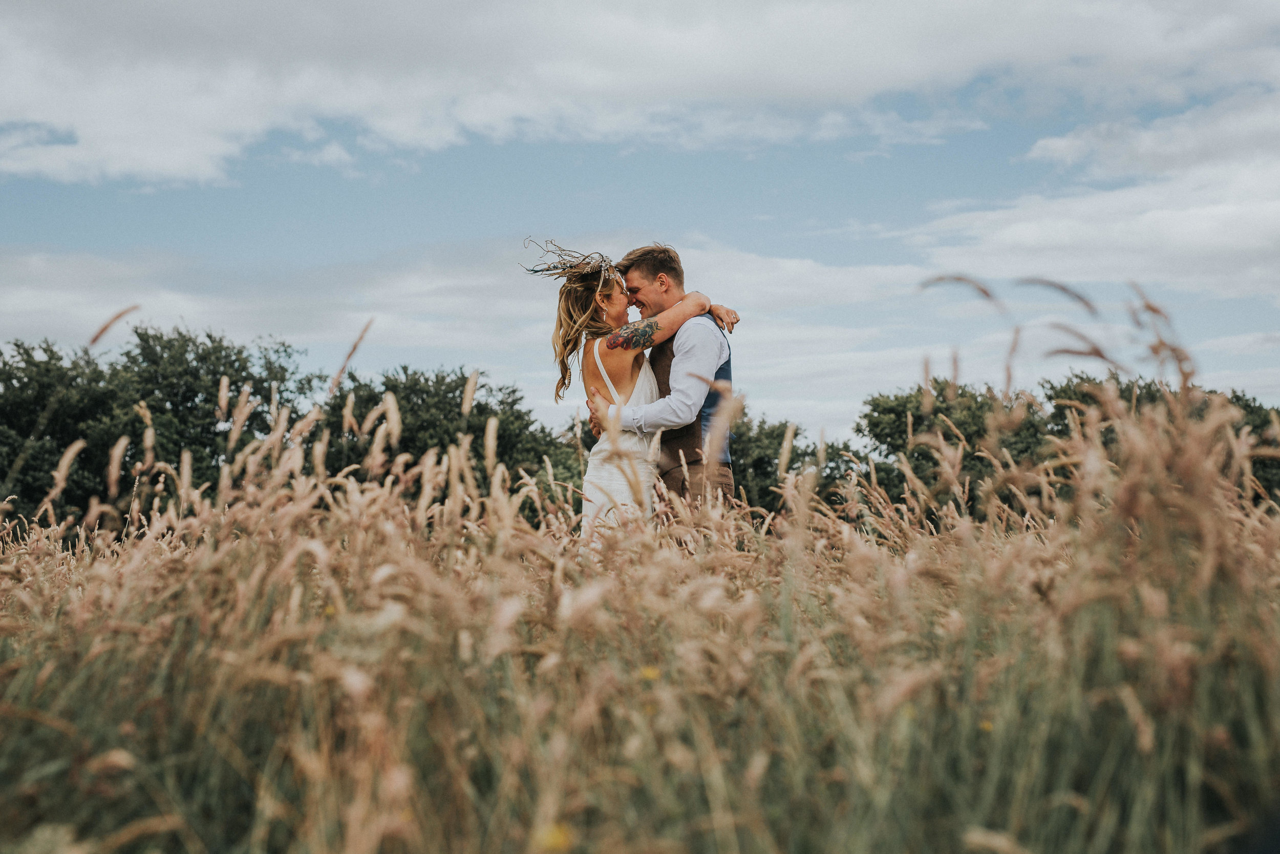 Sally & James - fforest farm