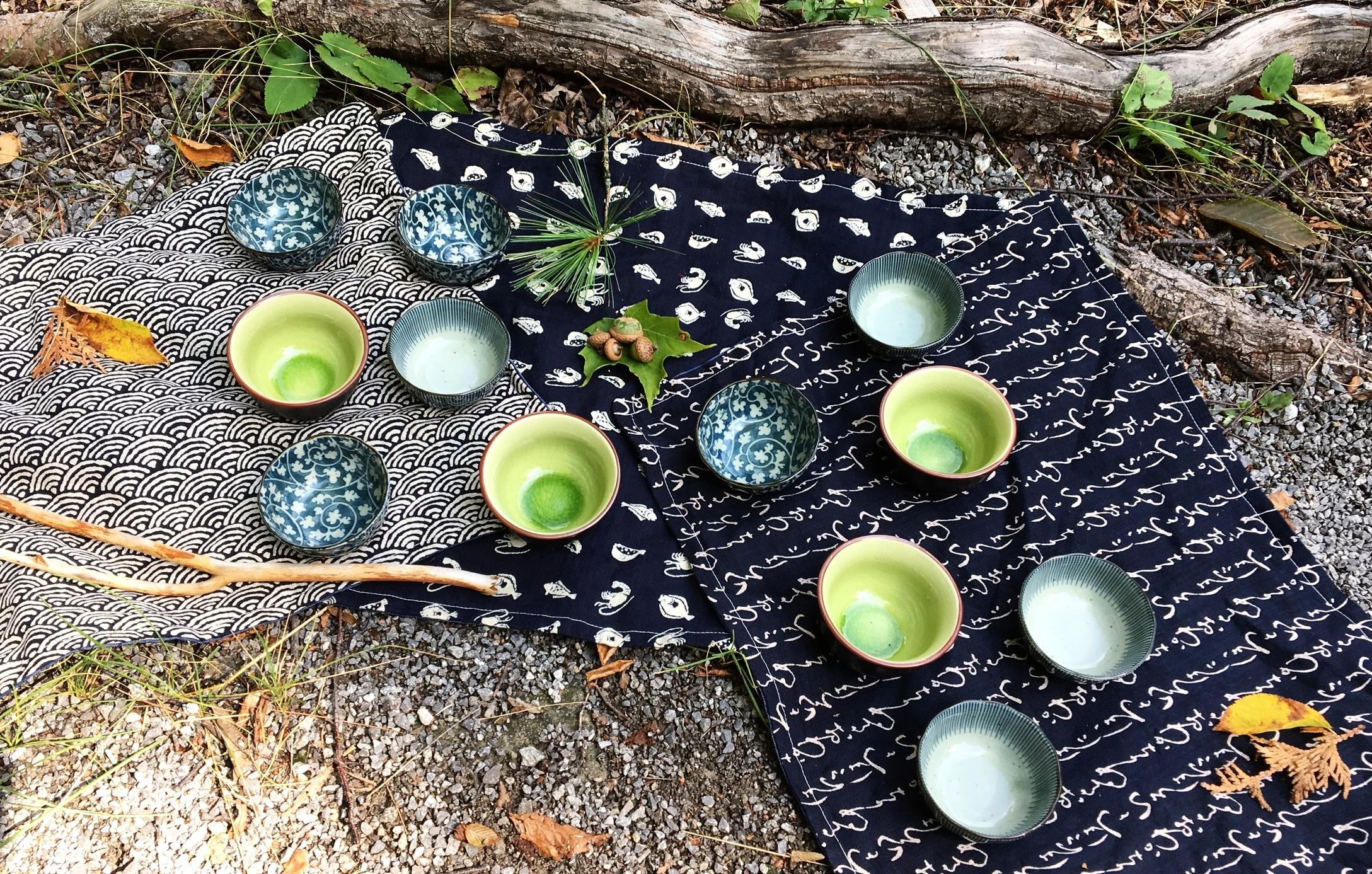 cérémonie du thé shinrin yoku québec