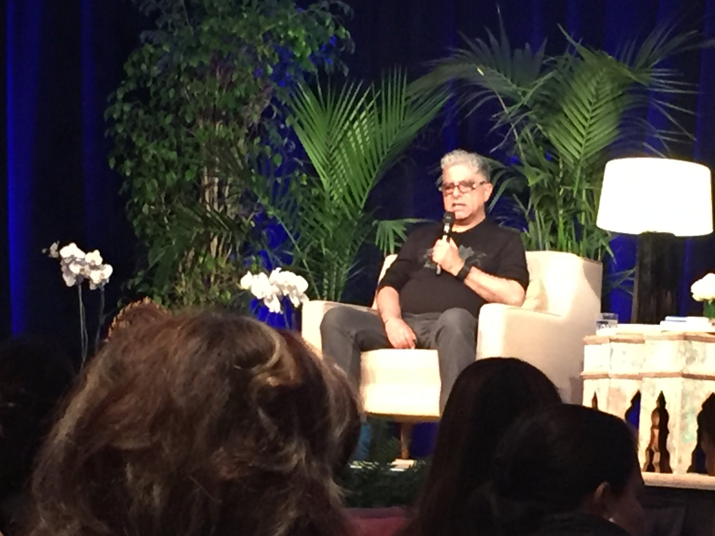 Deepak Chopra himself!