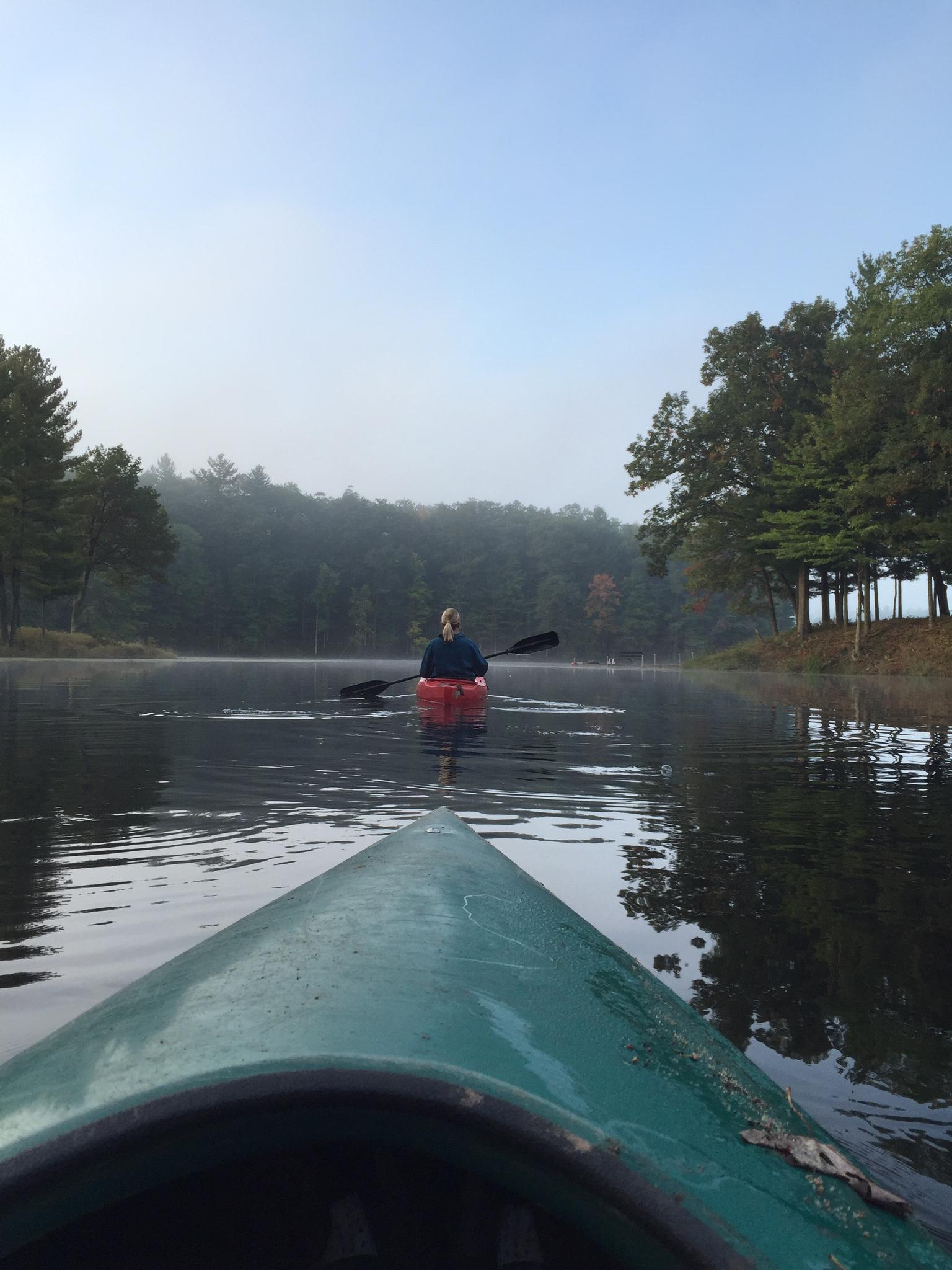 Kayaking didn't suck.