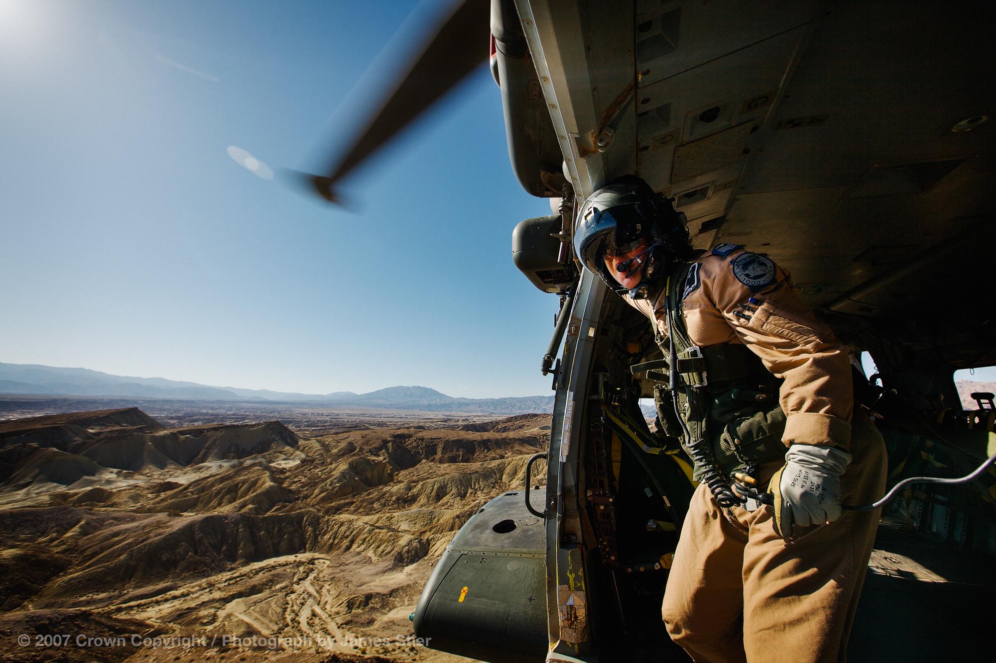 Over The Desert