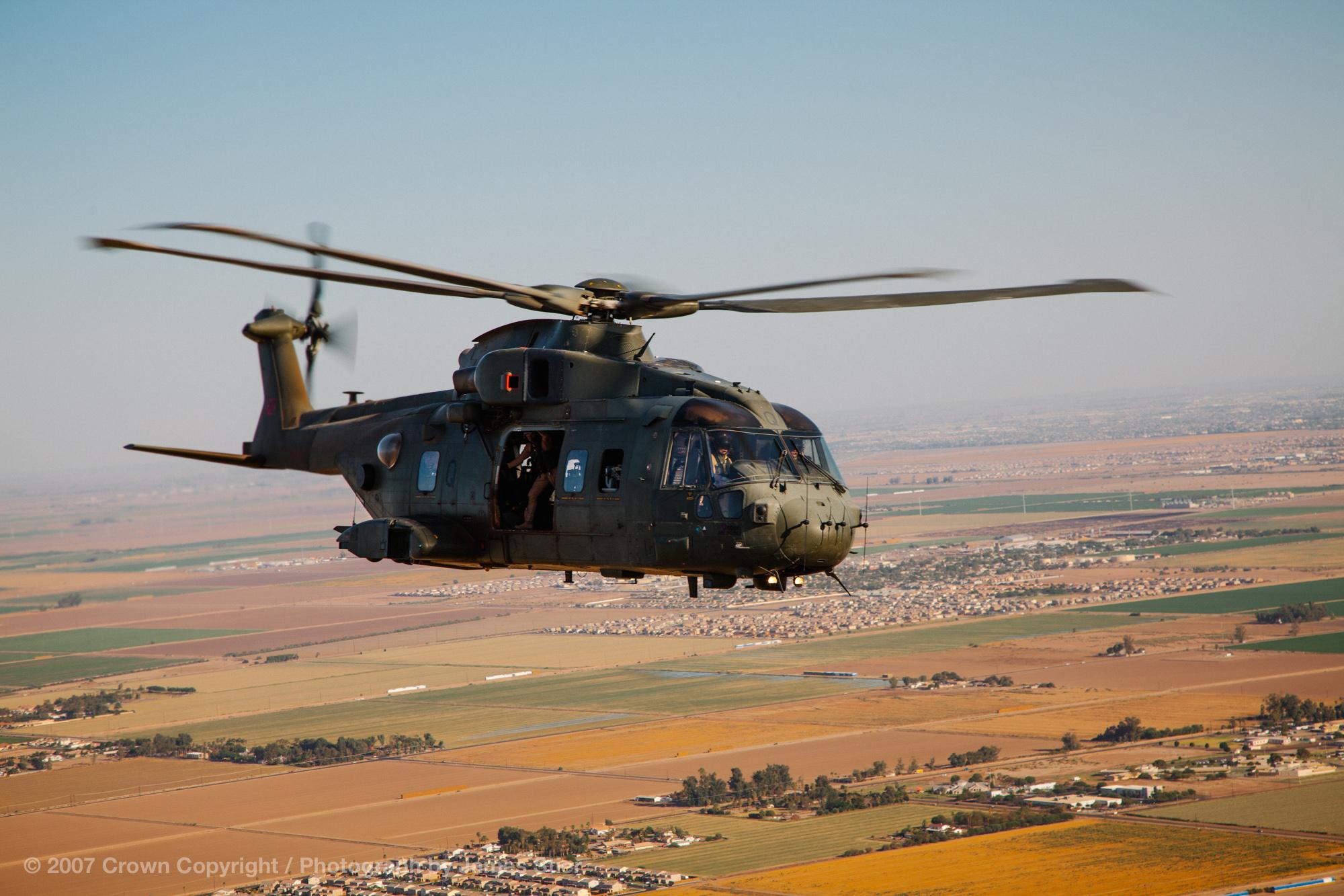 RAF Merlin HC3