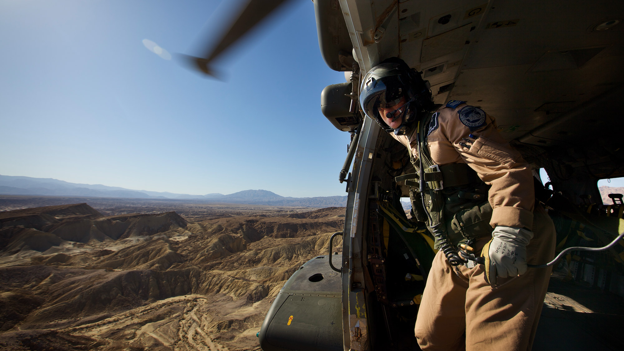 Over the Desert, RAF PR Photograph Award Winner