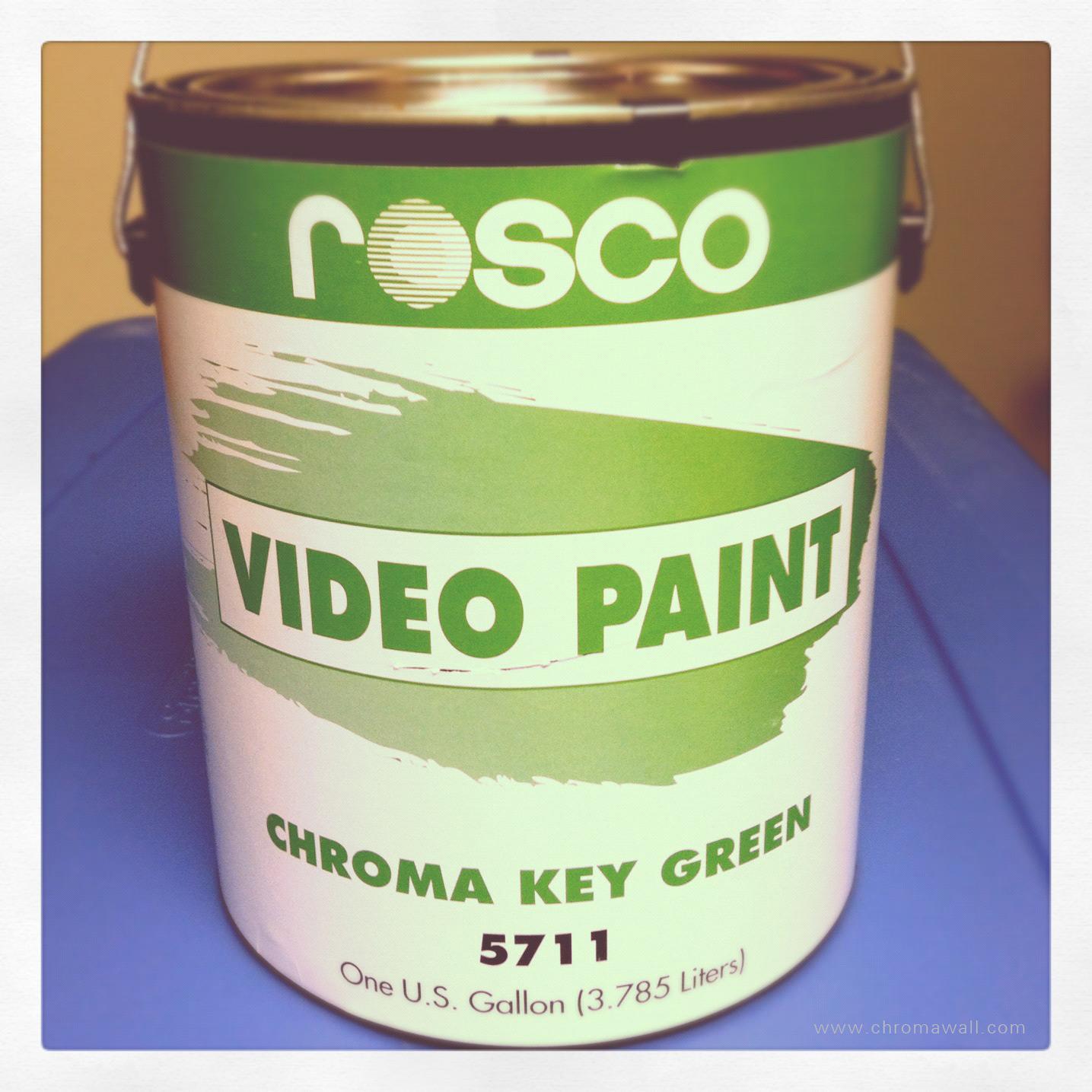 Rosco Chroma Key Paint