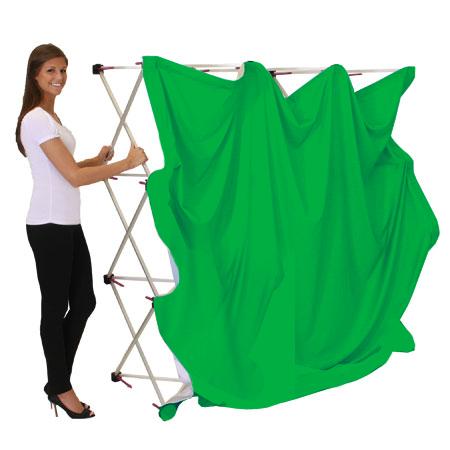 Extra Large Green Screen Kit (Collapsing Hardware)