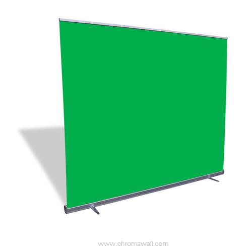 retractable green screens