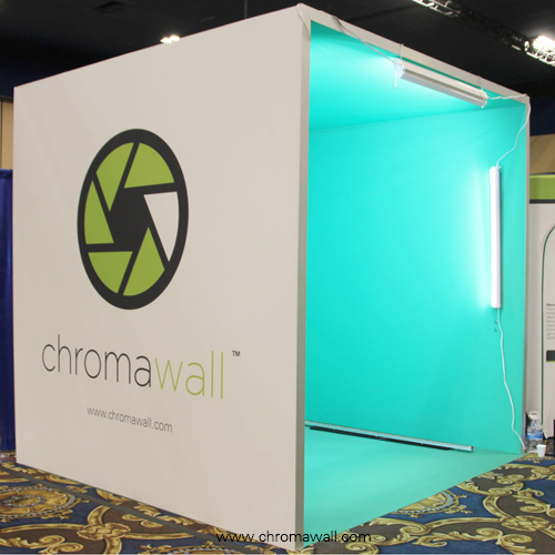 green screen cube