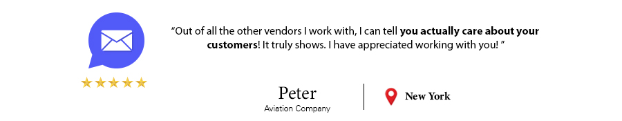 Customer Testimonial Peter