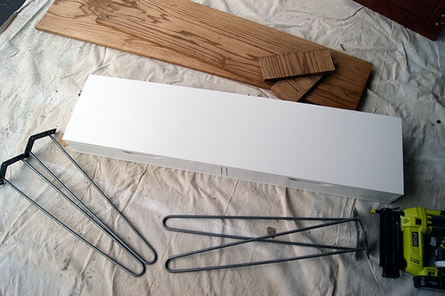 Ikea Hack Slim Desk Supplies