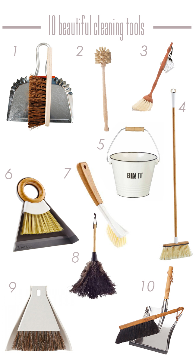 Beautiful Cleaning Tools