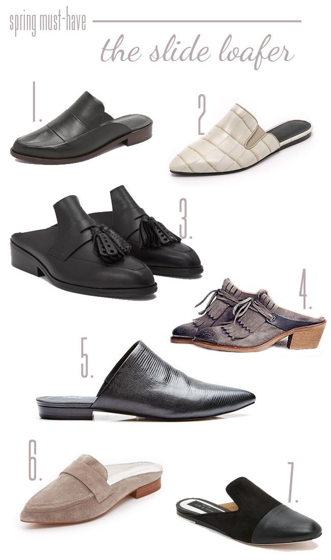 Spring Must-Have Slide Loafers