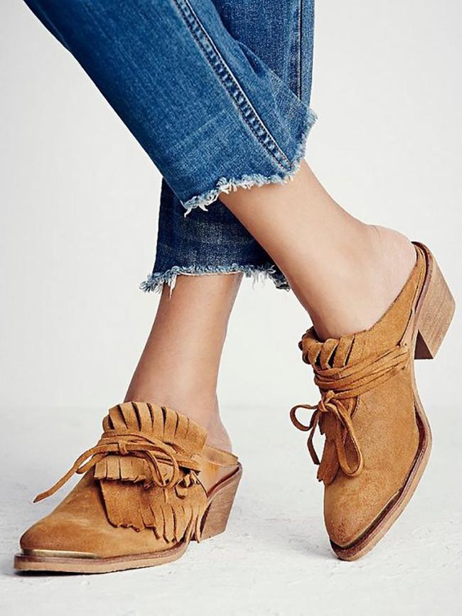 Slide Loafers