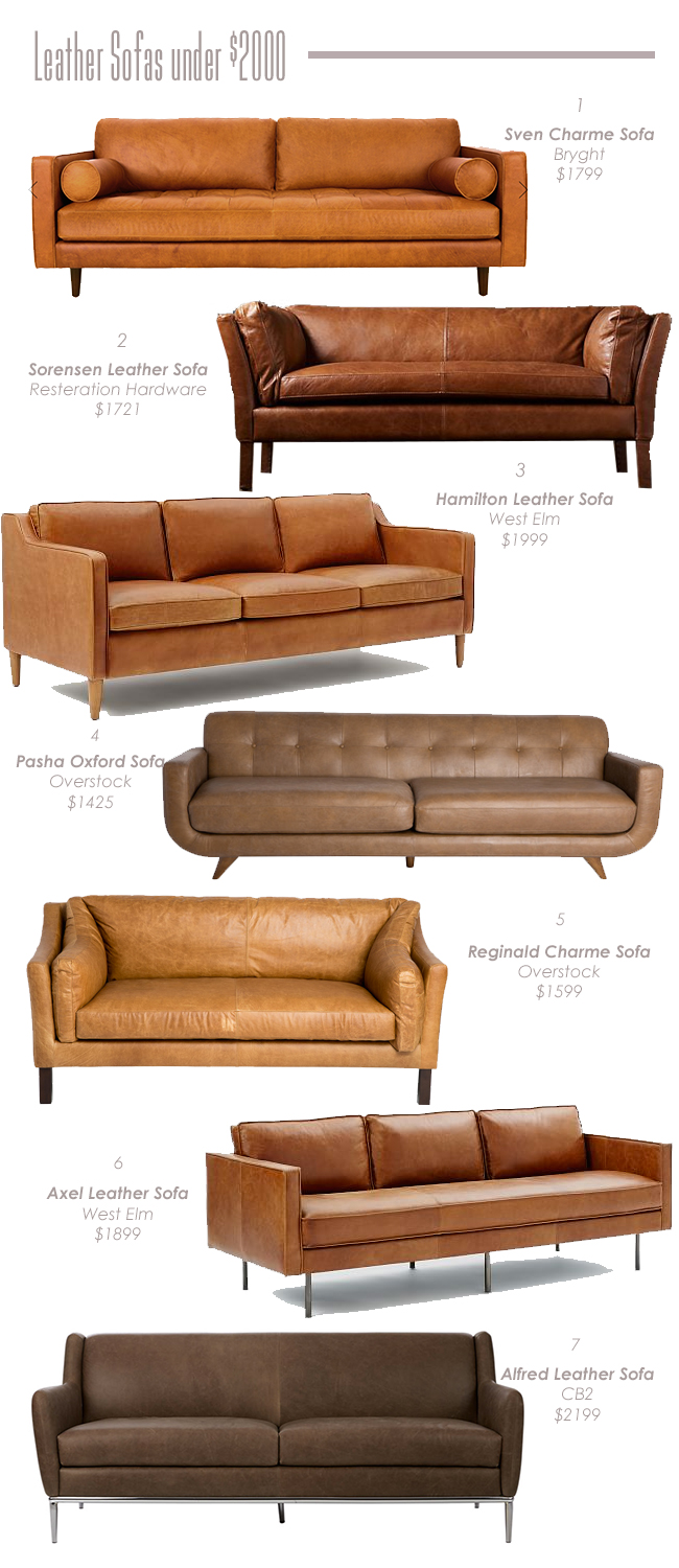 Leather Sofas Under 2000 Undeclared