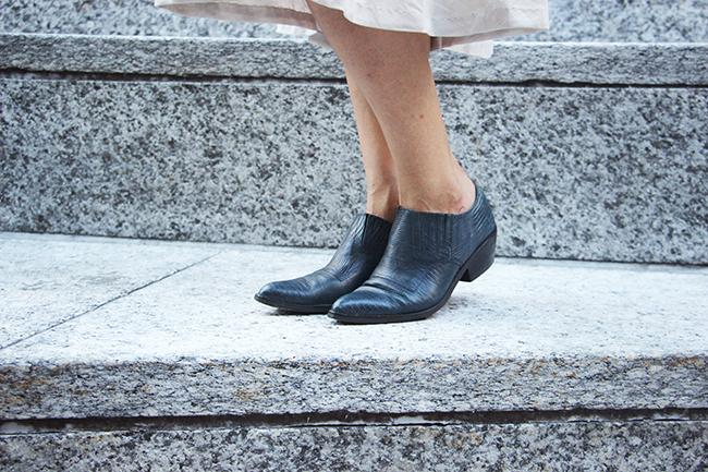 vintage ankle booties