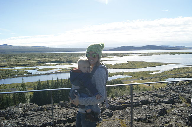 Iceland with a toddler
