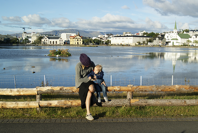 Reykjavik with a toddler