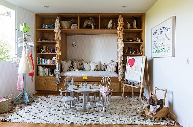 Neutral playroom