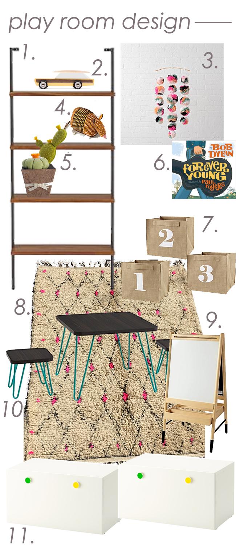 Playroom Design Idea