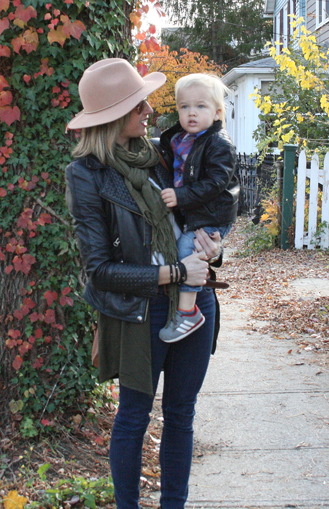Easy layered mom style