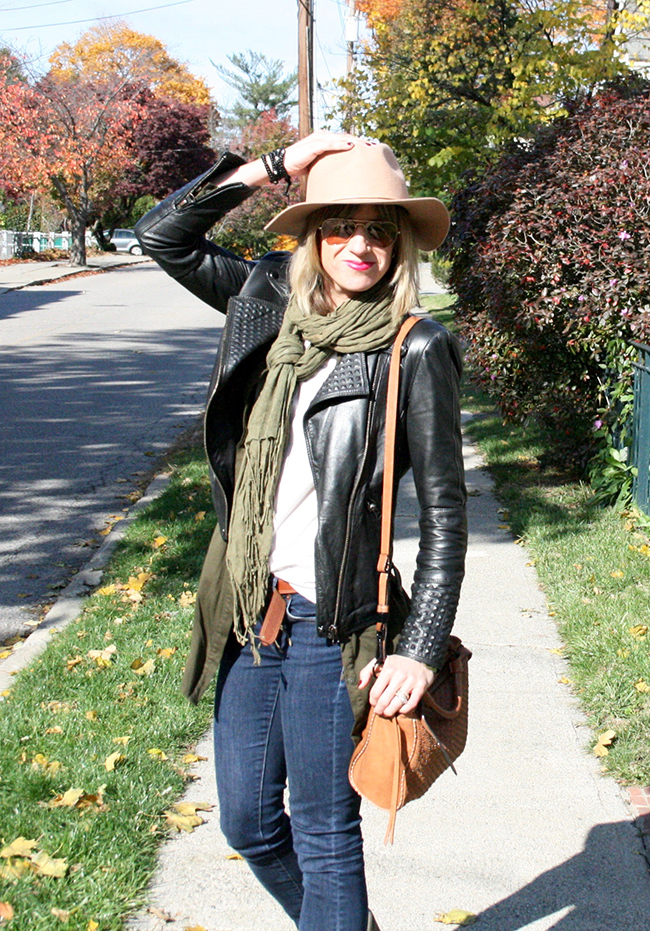 layered fall look
